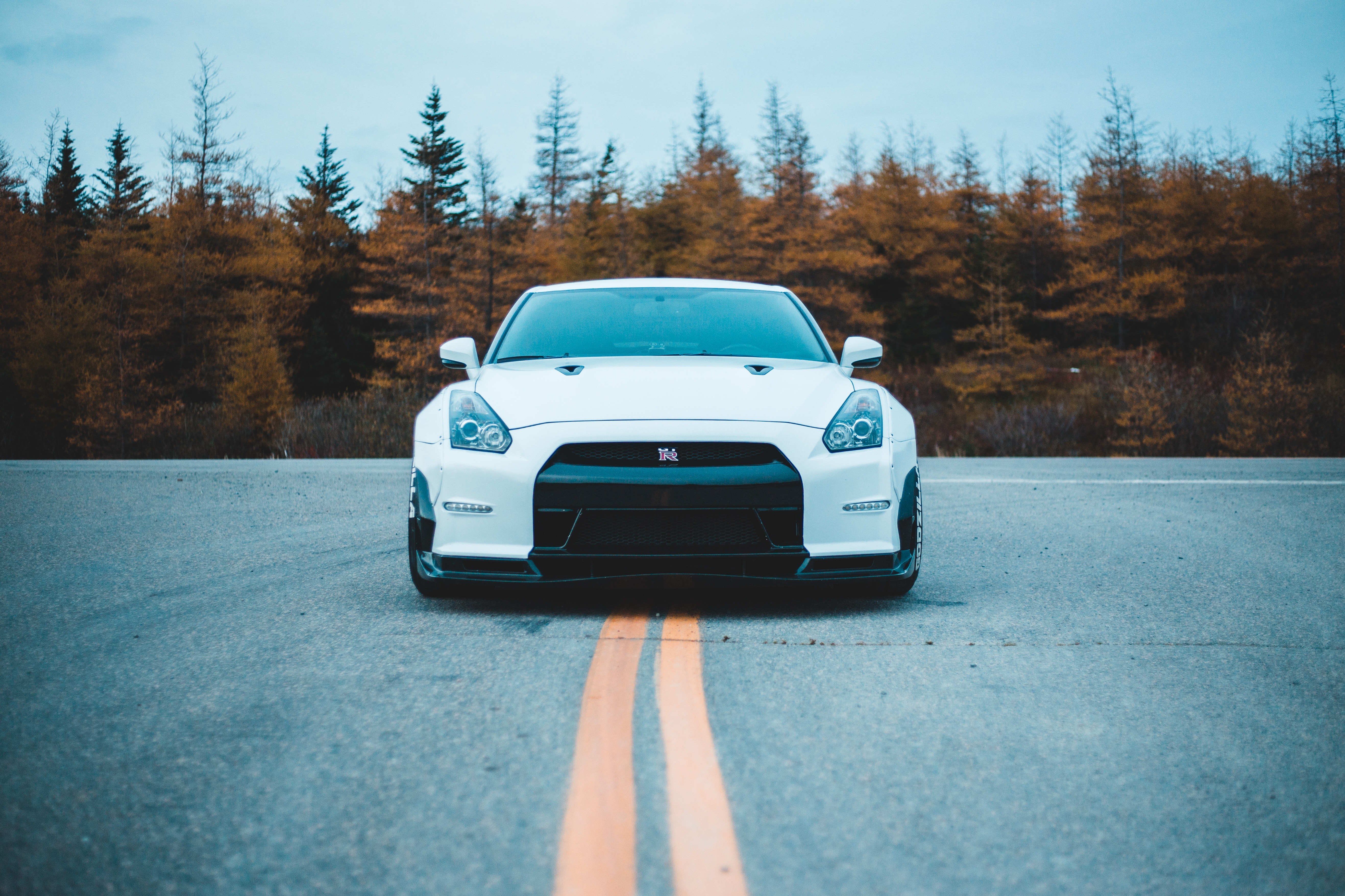 59295 Screensavers and Wallpapers Nissan for phone. Download Sports, Nissan, Cars, Front View, Sports Car, Nissan Gt-R pictures for free