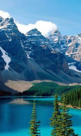 35870 télécharger le fond d'écran Paysage, Montagnes, Lacs - économiseurs d'écran et images gratuitement