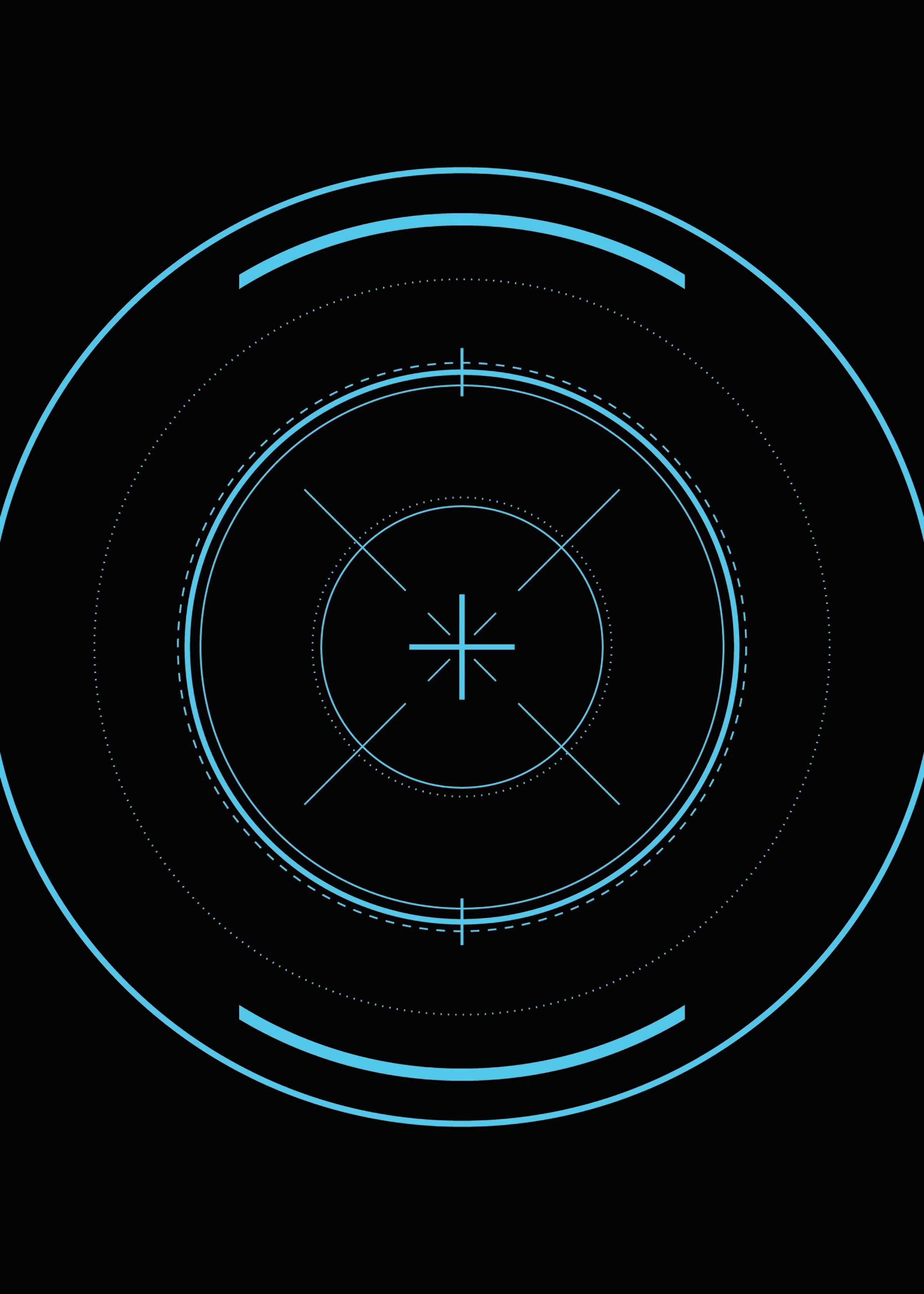 116426 download wallpaper Dark, Circles, Markup, Lines, Lens, Centre, Center, Optical Sight screensavers and pictures for free