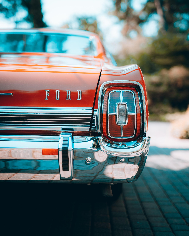 75236 Hintergrundbild herunterladen Ford, Auto, Cars, Wagen, Vorderansicht, Frontansicht, Retro - Bildschirmschoner und Bilder kostenlos