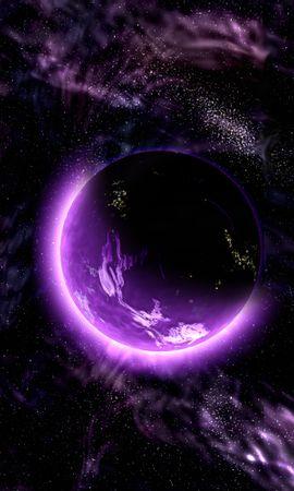 63891 baixar papel de parede Planeta, Universo, Galáxia, Roxo, Violeta - protetores de tela e imagens gratuitamente
