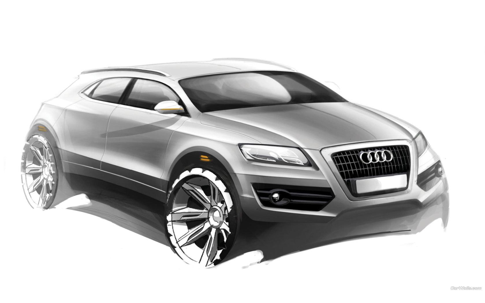 13978 скачать обои Транспорт, Машины, Ауди (Audi), Рисунки - заставки и картинки бесплатно