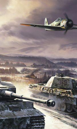 20255 télécharger le fond d'écran Jeux, World Of Tanks - économiseurs d'écran et images gratuitement