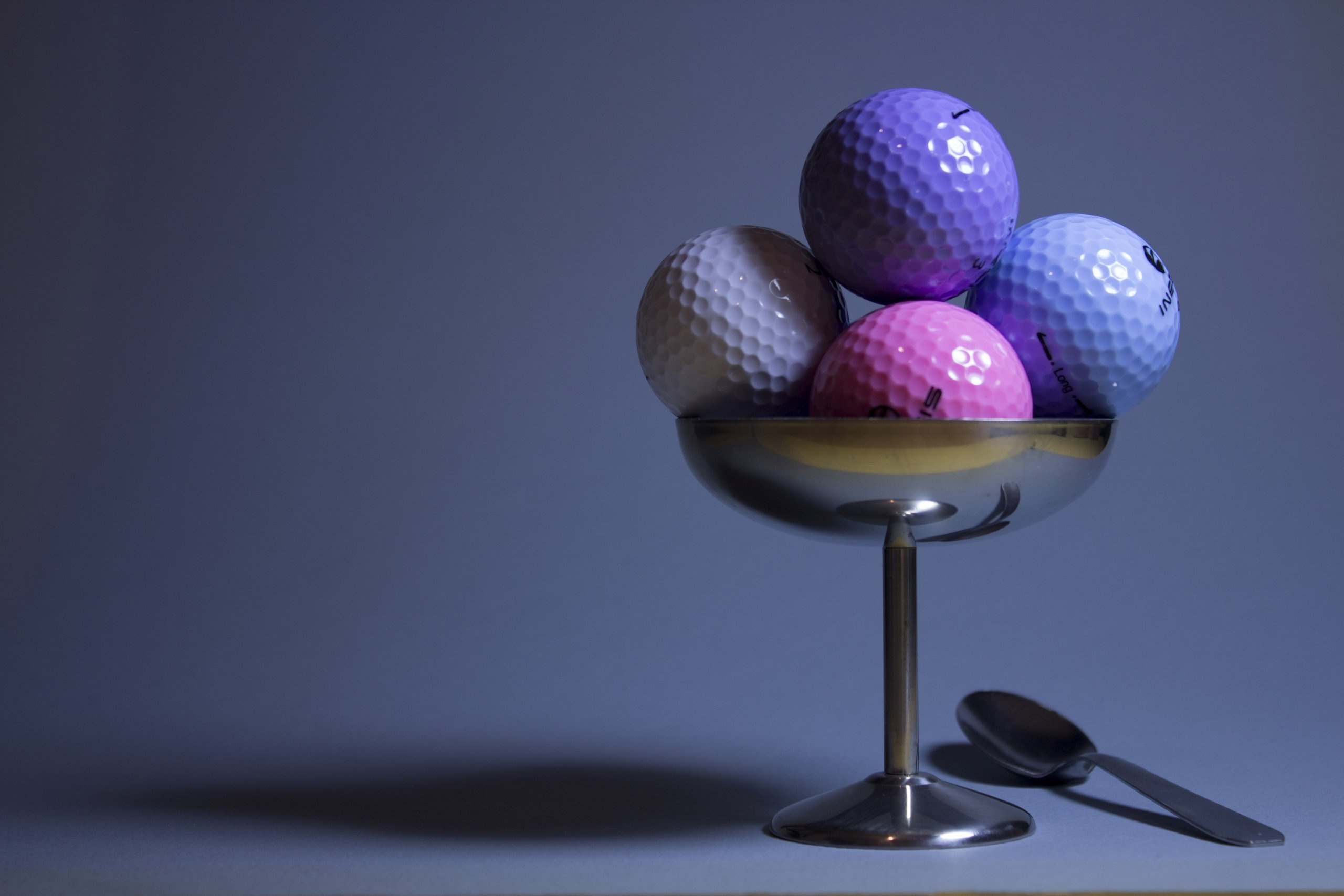 146775 download wallpaper Food, Golf, Miscellanea, Miscellaneous, Imitation, Golf Balls screensavers and pictures for free