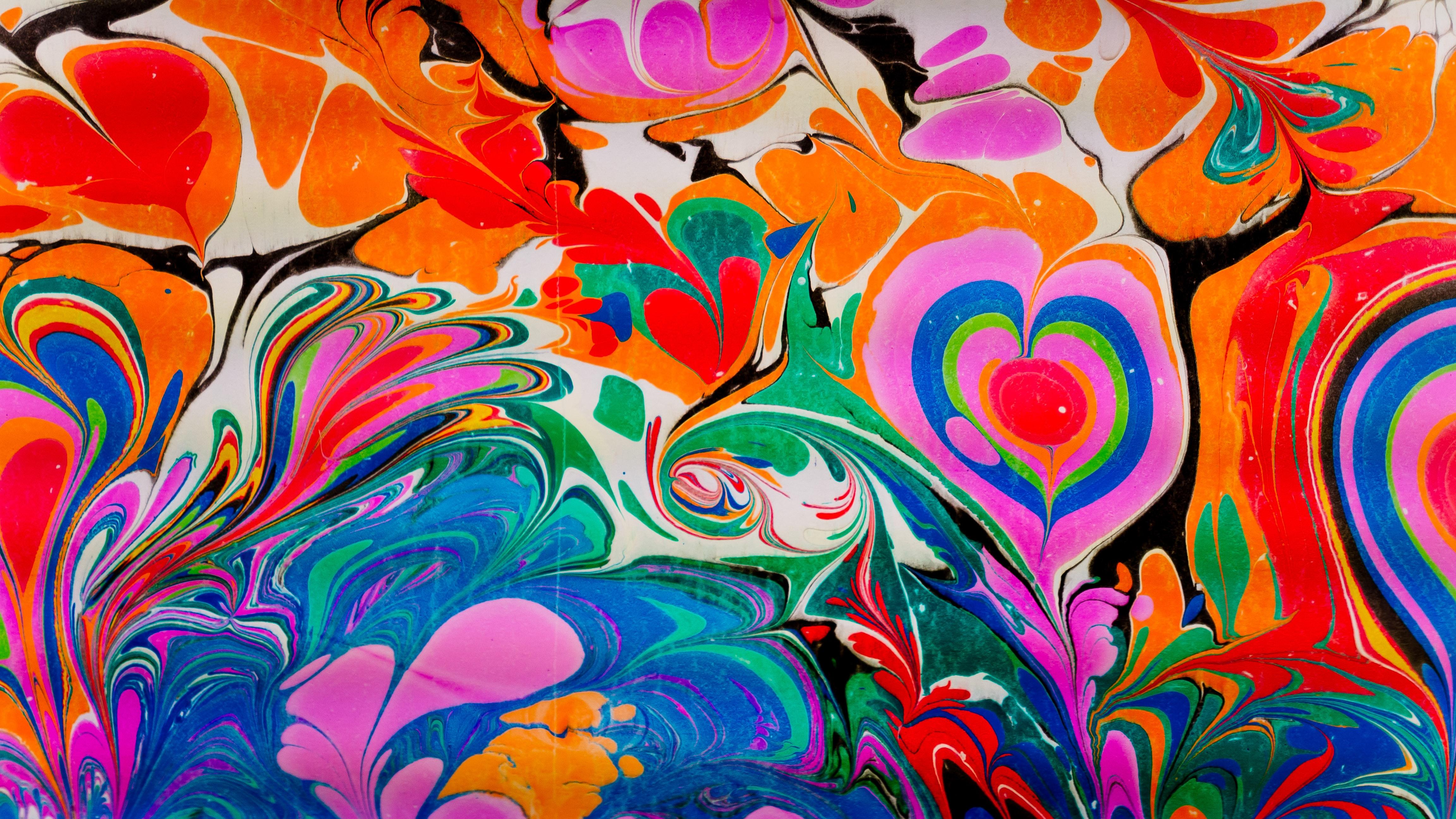 91523 免費下載壁紙 抽象, 画, 油漆, 液体, 图案, 多彩多姿, 五颜六色 屏保和圖片