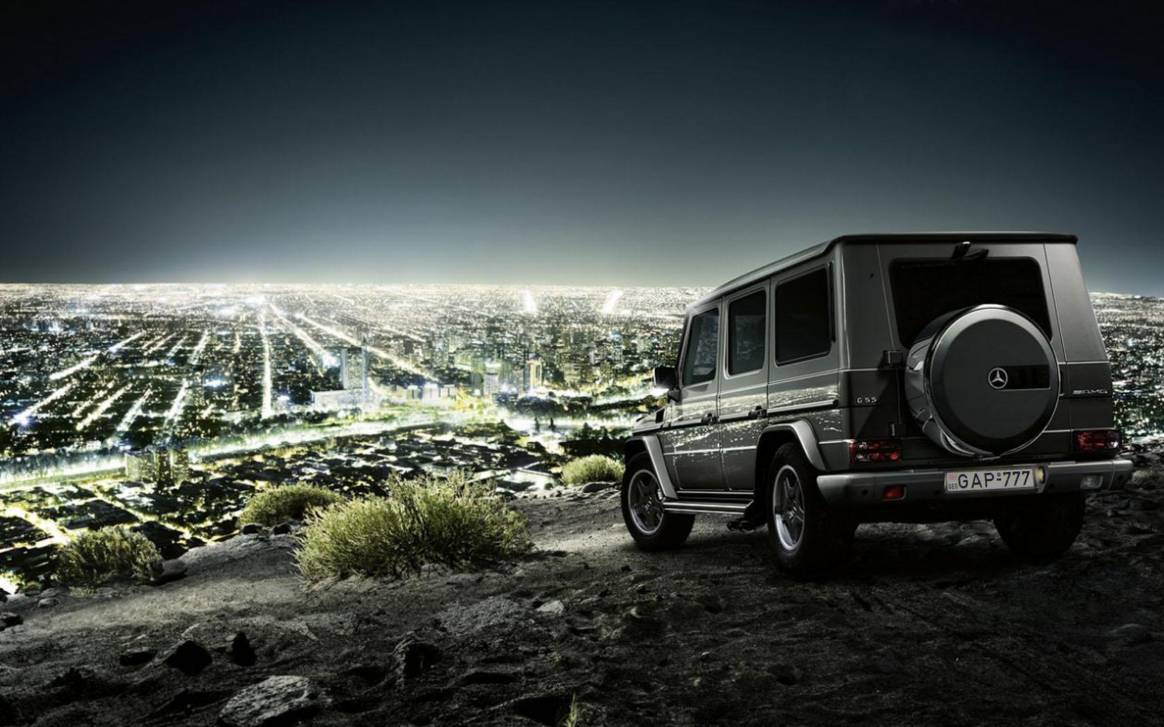 42072 скачать обои Пейзаж, Города, Машины, Мерседес (Mercedes) - заставки и картинки бесплатно