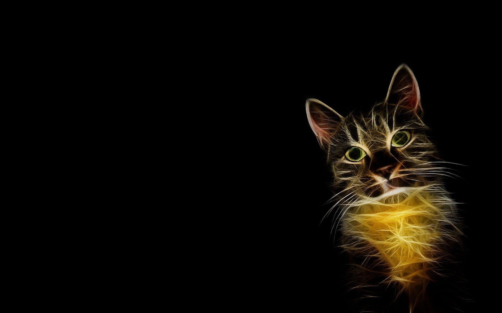 152894 Hintergrundbild herunterladen Abstrakt, Raucher, Züge, Der Kater, Katze, Bild, Zeichnung, Schatten, Funktionen - Bildschirmschoner und Bilder kostenlos