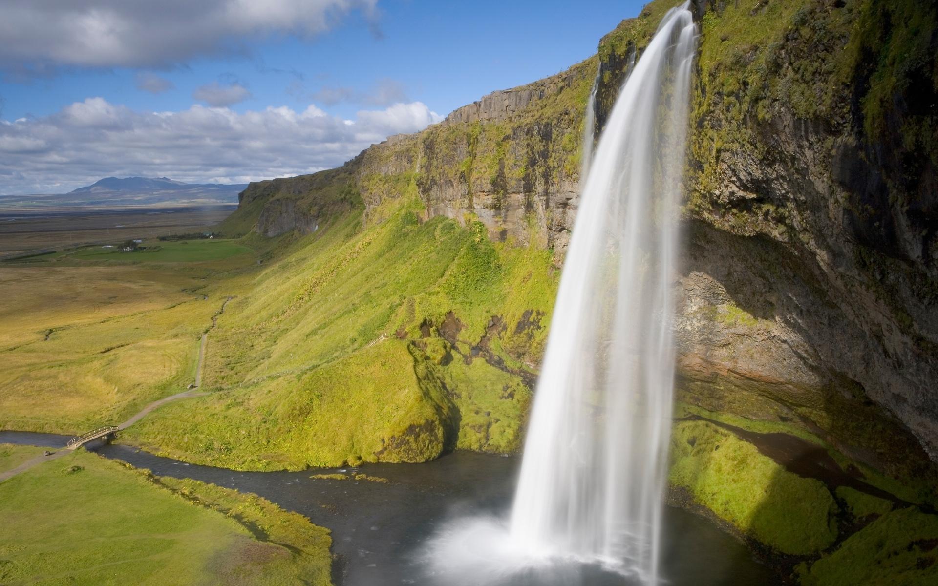 1784 скачать обои Пейзаж, Горы, Водопады - заставки и картинки бесплатно