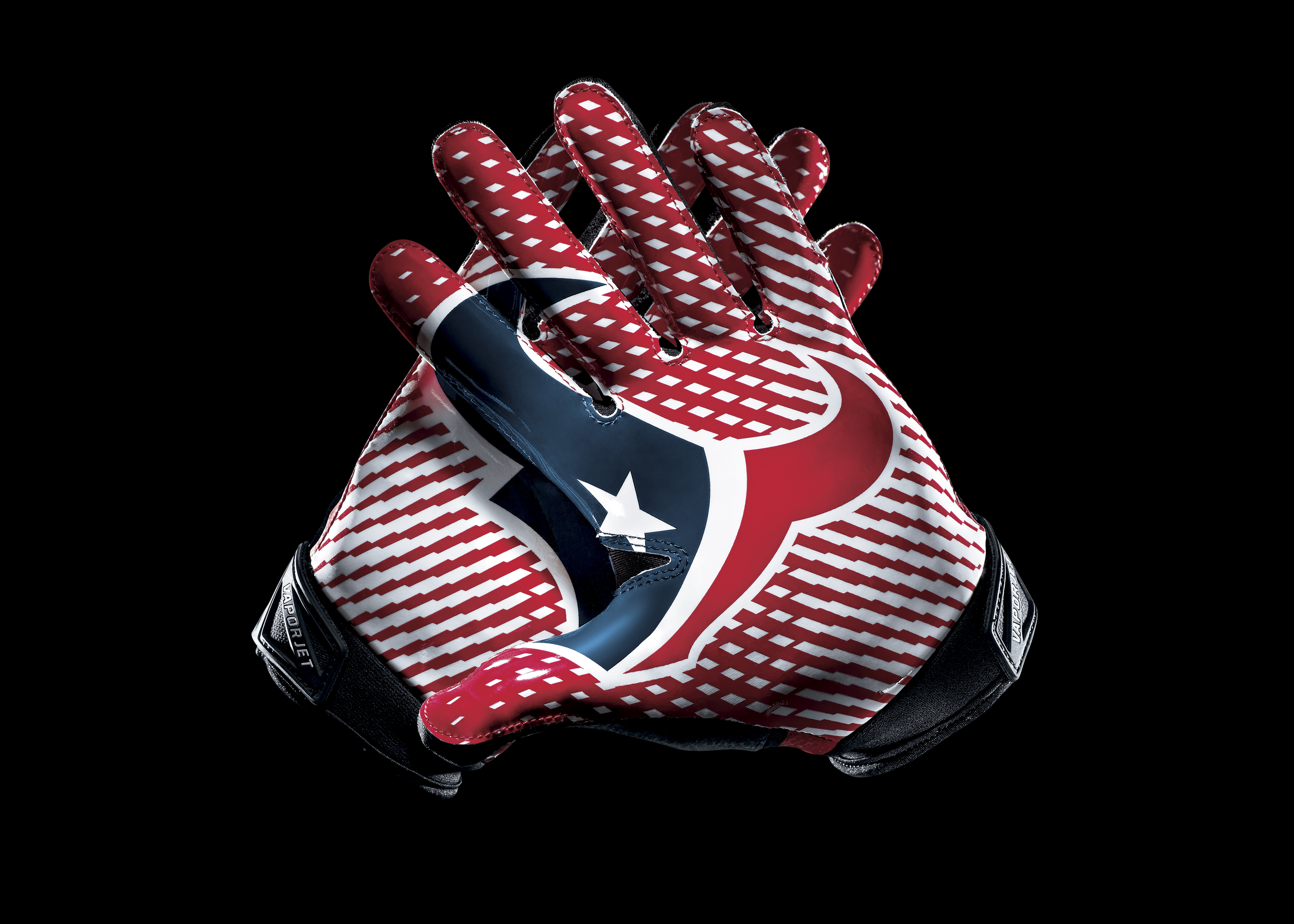 107762 download wallpaper Sports, Houston Texans, Football, Logo, Logotype, Hands screensavers and pictures for free