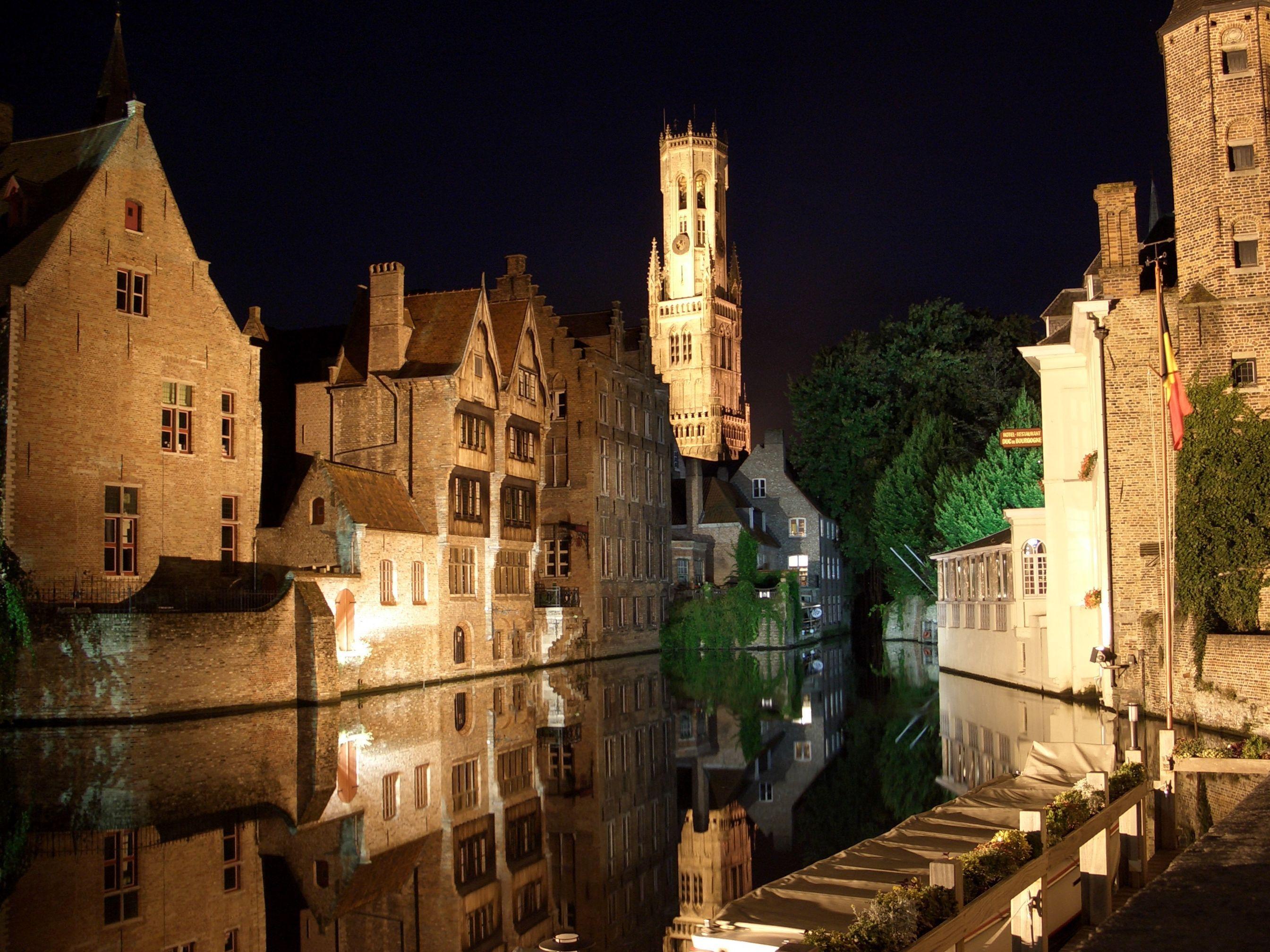 15477 скачать обои Города, Вода, Дома, Ночь, Архитектура, Италия, Венеция - заставки и картинки бесплатно
