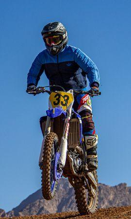 101463 télécharger le fond d'écran Moto, Motocyclette, Motocycliste, Bicyclette, Vélo, Casque, Tour, Tromper - économiseurs d'écran et images gratuitement