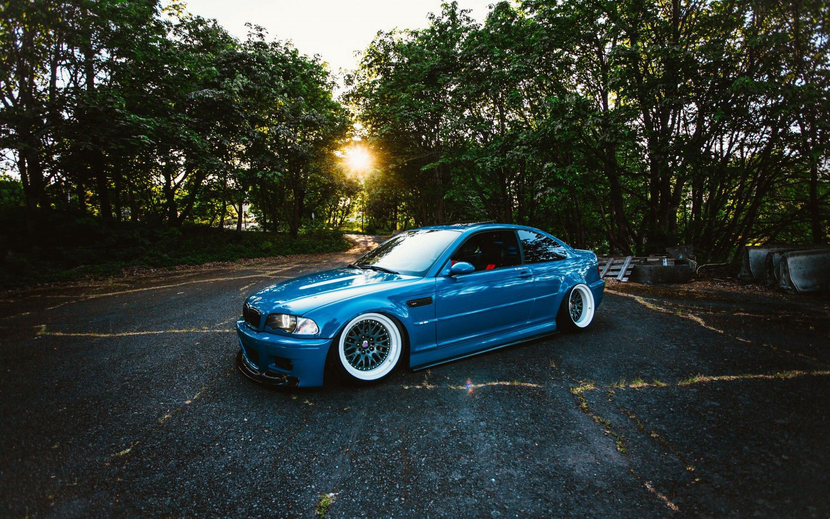 101374 Screensavers and Wallpapers M3 for phone. Download Trees, Bmw, Cars, Side View, M3 pictures for free