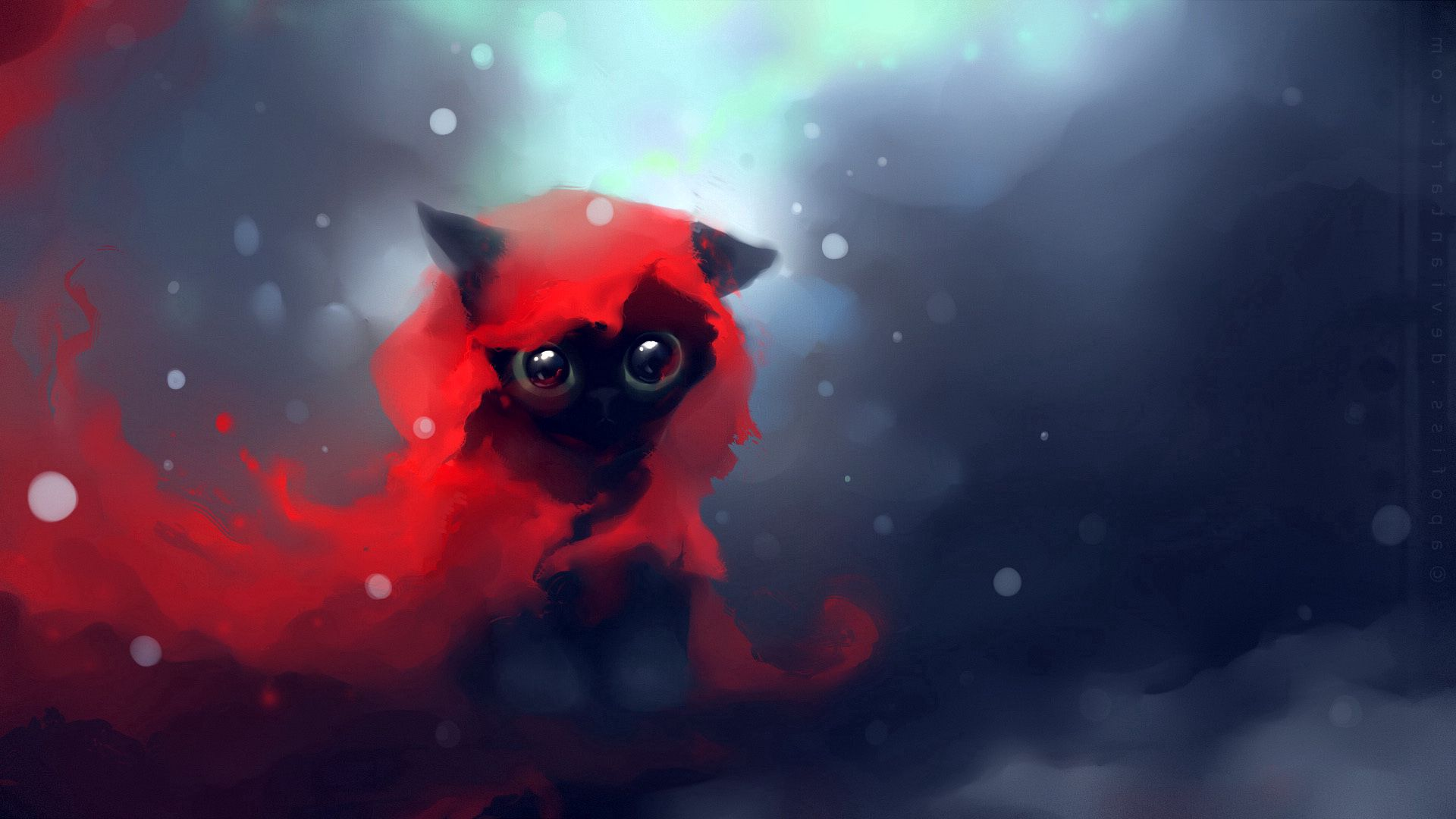 56497 download wallpaper Cat, Picture, Drawing, Art, Apofiss screensavers and pictures for free