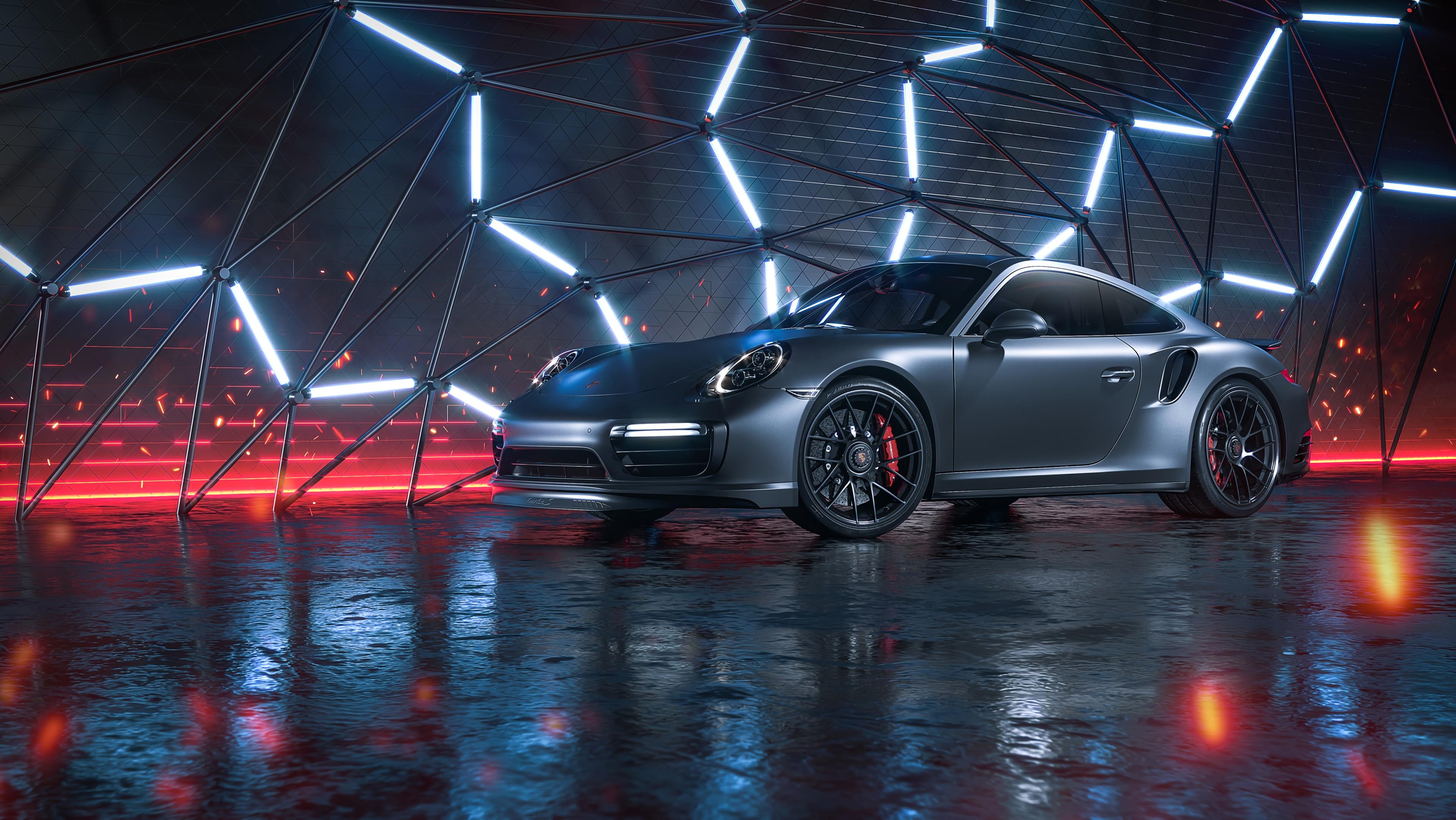 93840 Hintergrundbild herunterladen Auto, Sport, Cars, Maschine, Neon, Sportwagen, Seitenansicht - Bildschirmschoner und Bilder kostenlos