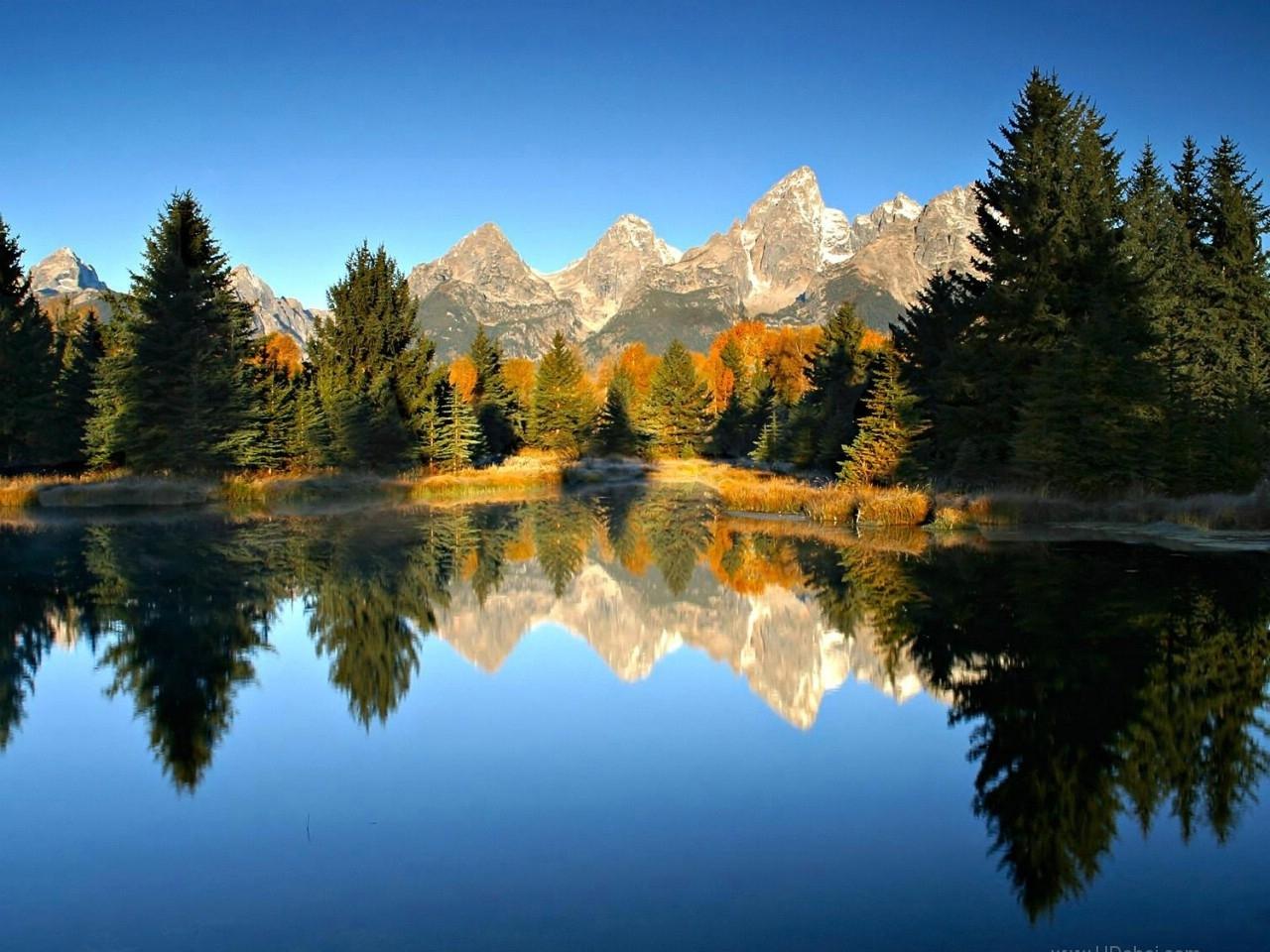 28419 Заставки и Обои Озера на телефон. Скачать Озера, Пейзаж, Деревья, Горы картинки бесплатно