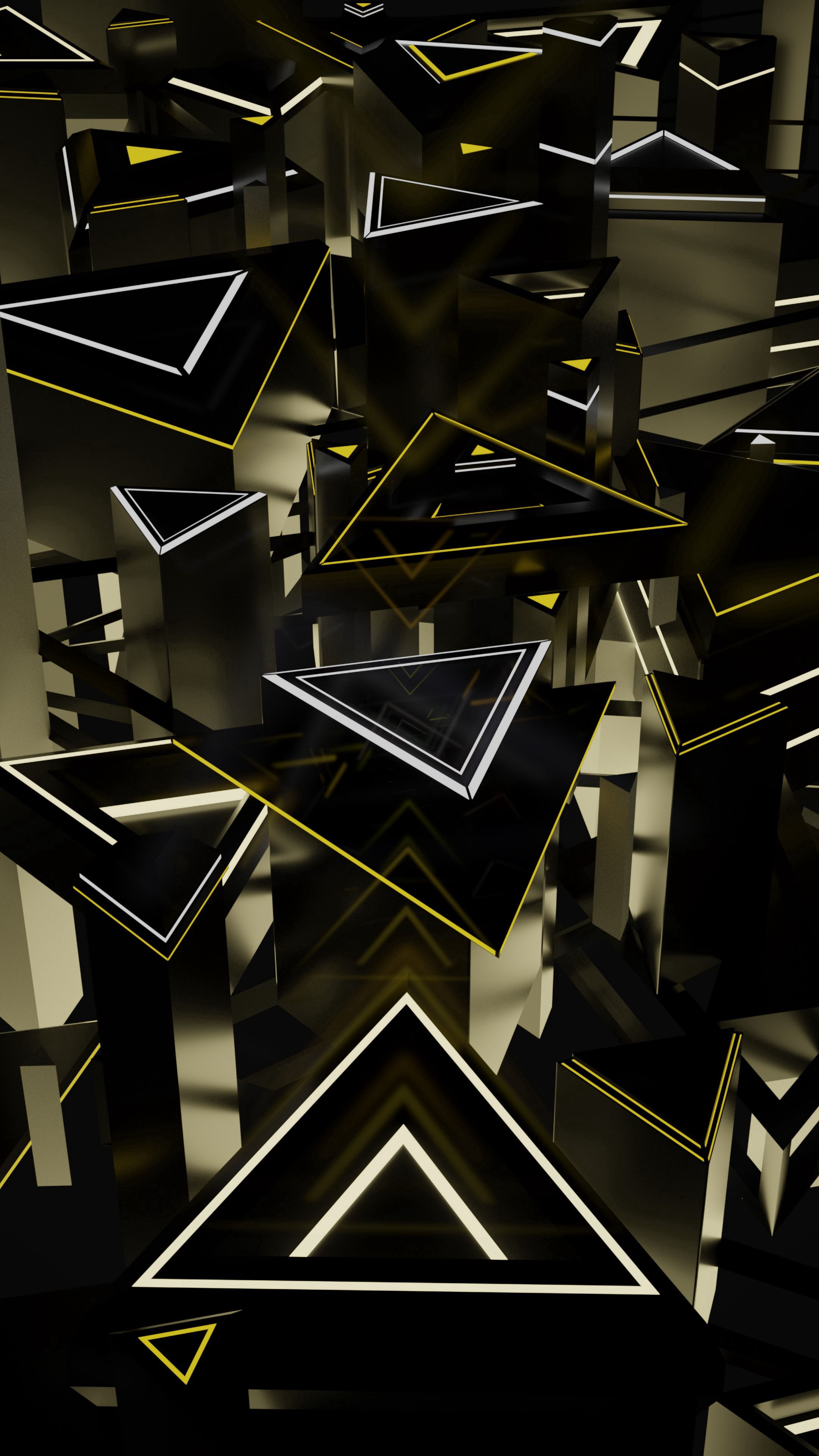 120000 download wallpaper 3D, Structure, Shapes, Shape, Volume, Triangles screensavers and pictures for free