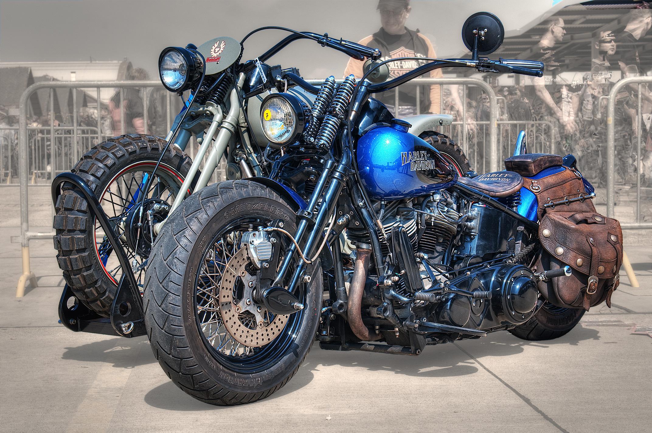 85609 скачать обои Мотоциклы, Harley Davidson, Байк, Мотоцикл, Стиль, Байкеры - заставки и картинки бесплатно