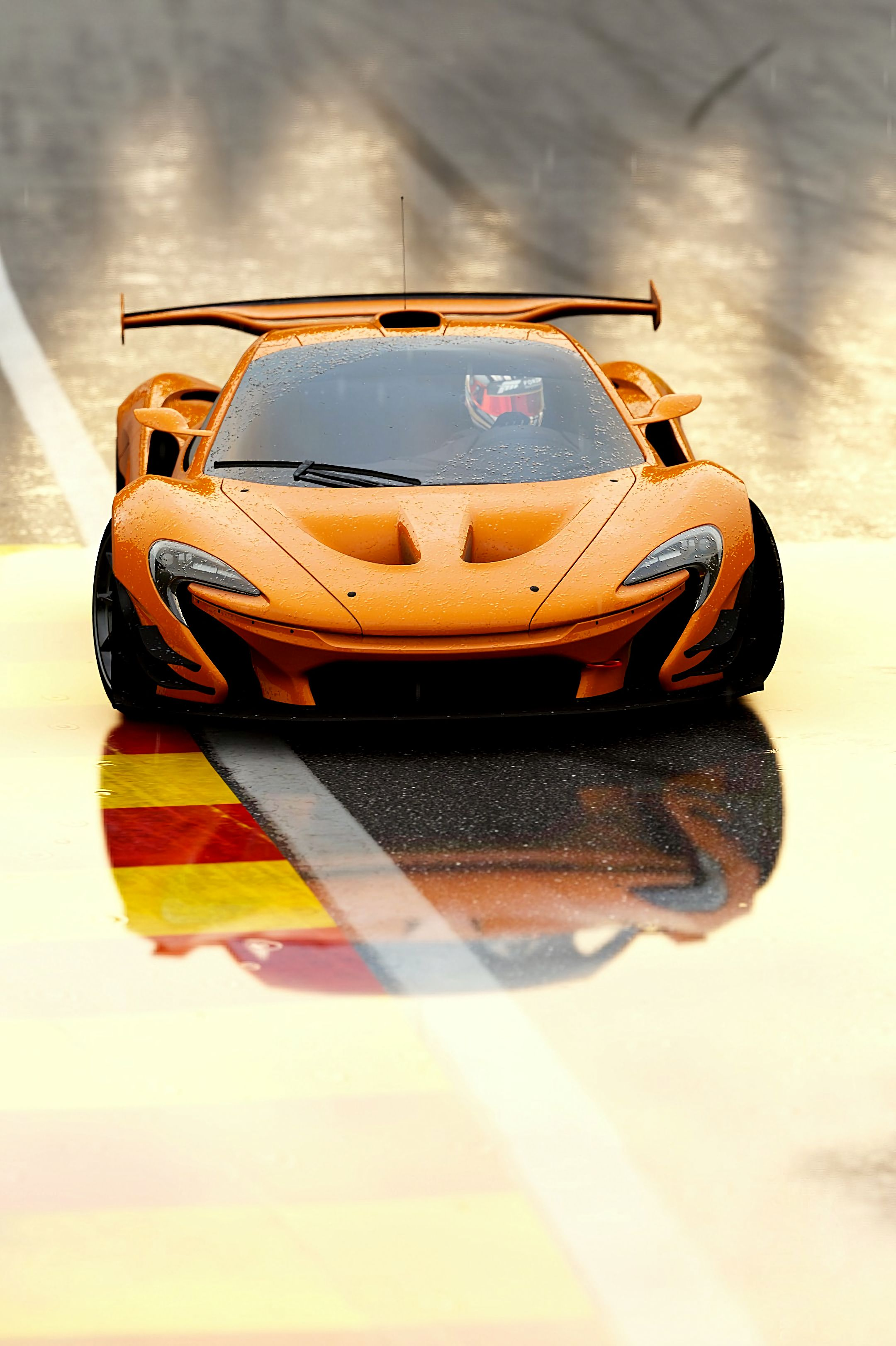 148074 Screensavers and Wallpapers Races for phone. Download Sports, Races, Mclaren, Cars, Front View, Sports Car, Mclaren P1, Mclaren P1 Gtr pictures for free