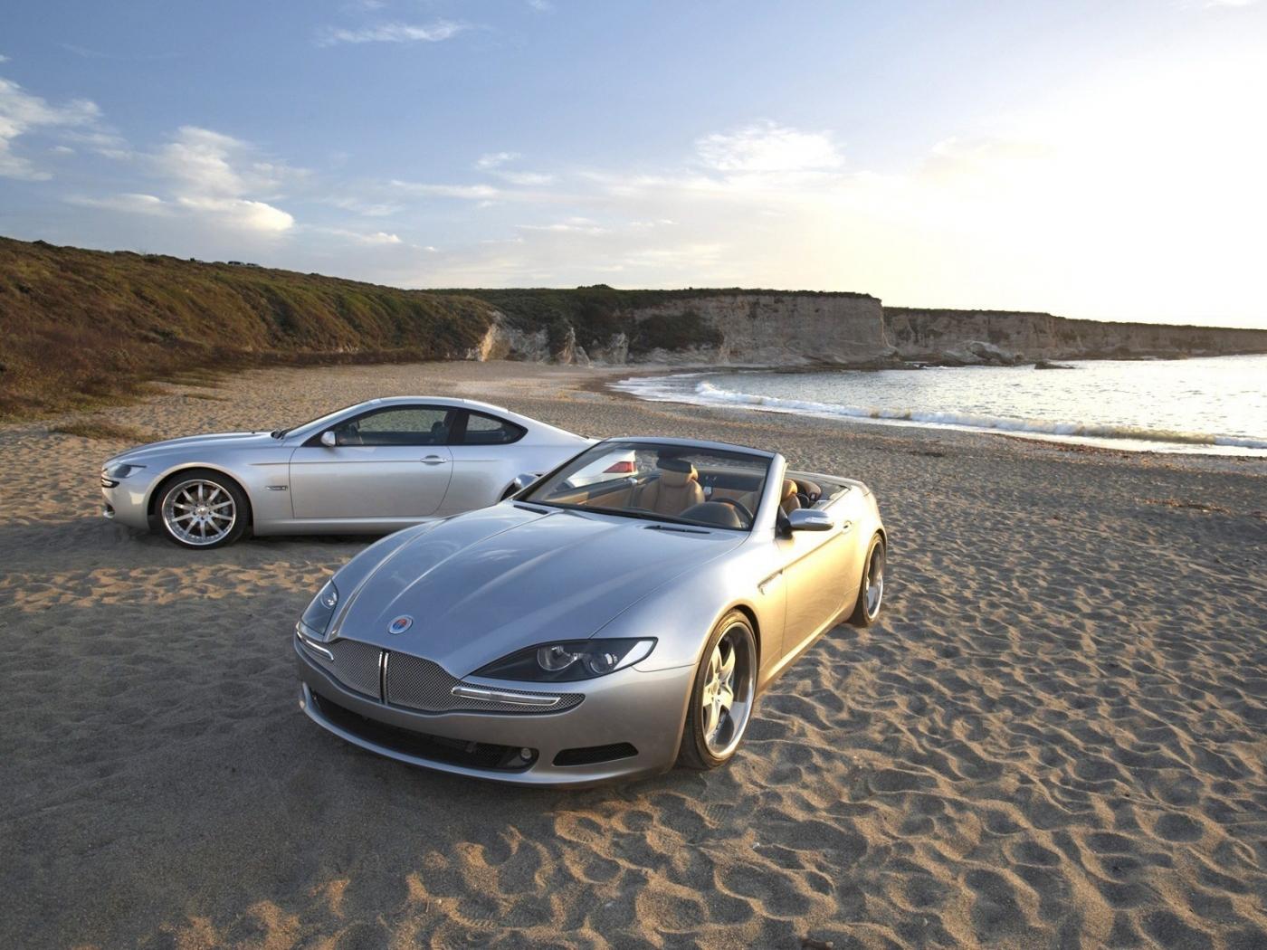 24816 скачать обои Транспорт, Пейзаж, Машины, Море, Пляж - заставки и картинки бесплатно