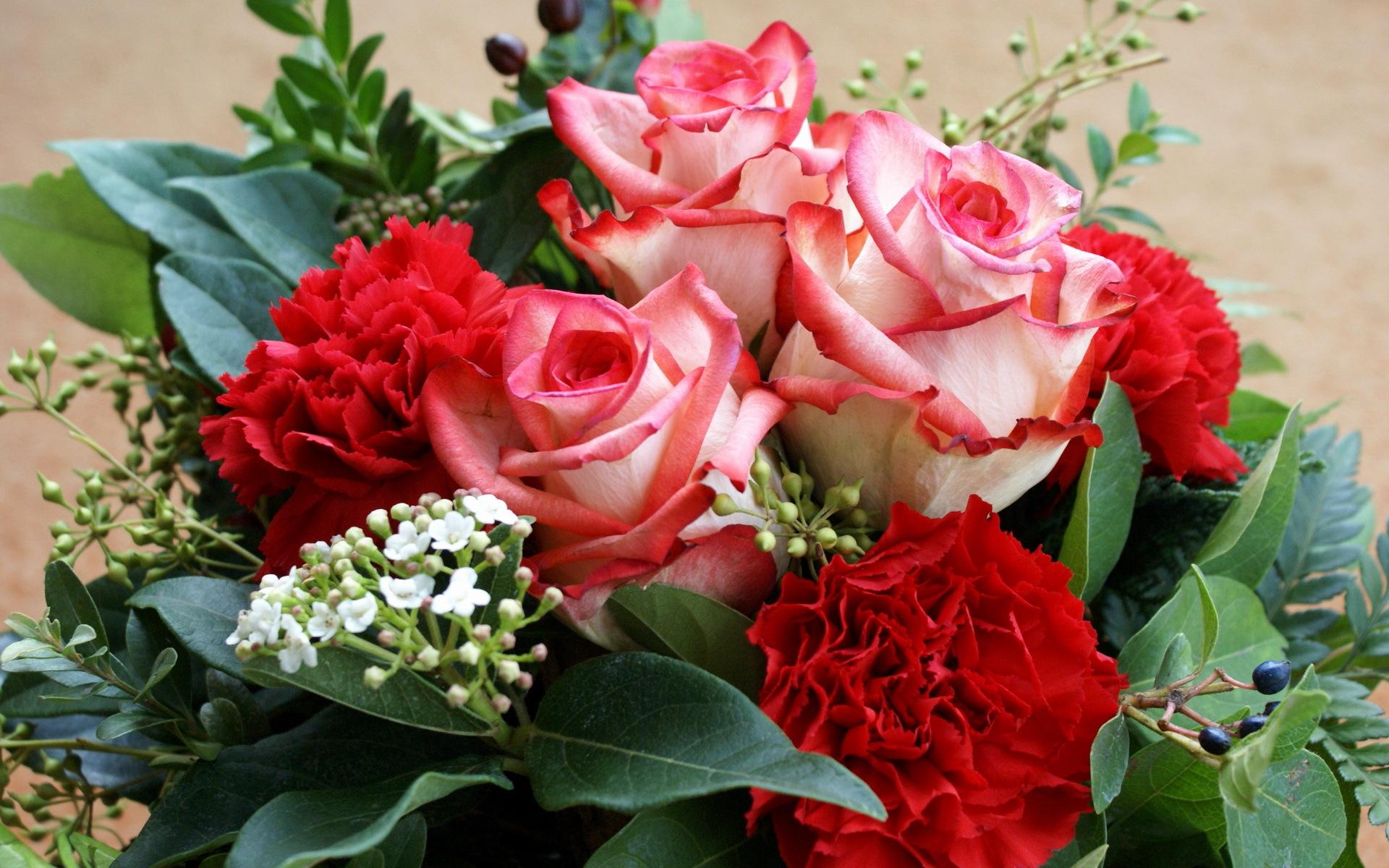 31252 Hintergrundbild herunterladen Pflanzen, Blumen, Roses, Bouquets - Bildschirmschoner und Bilder kostenlos