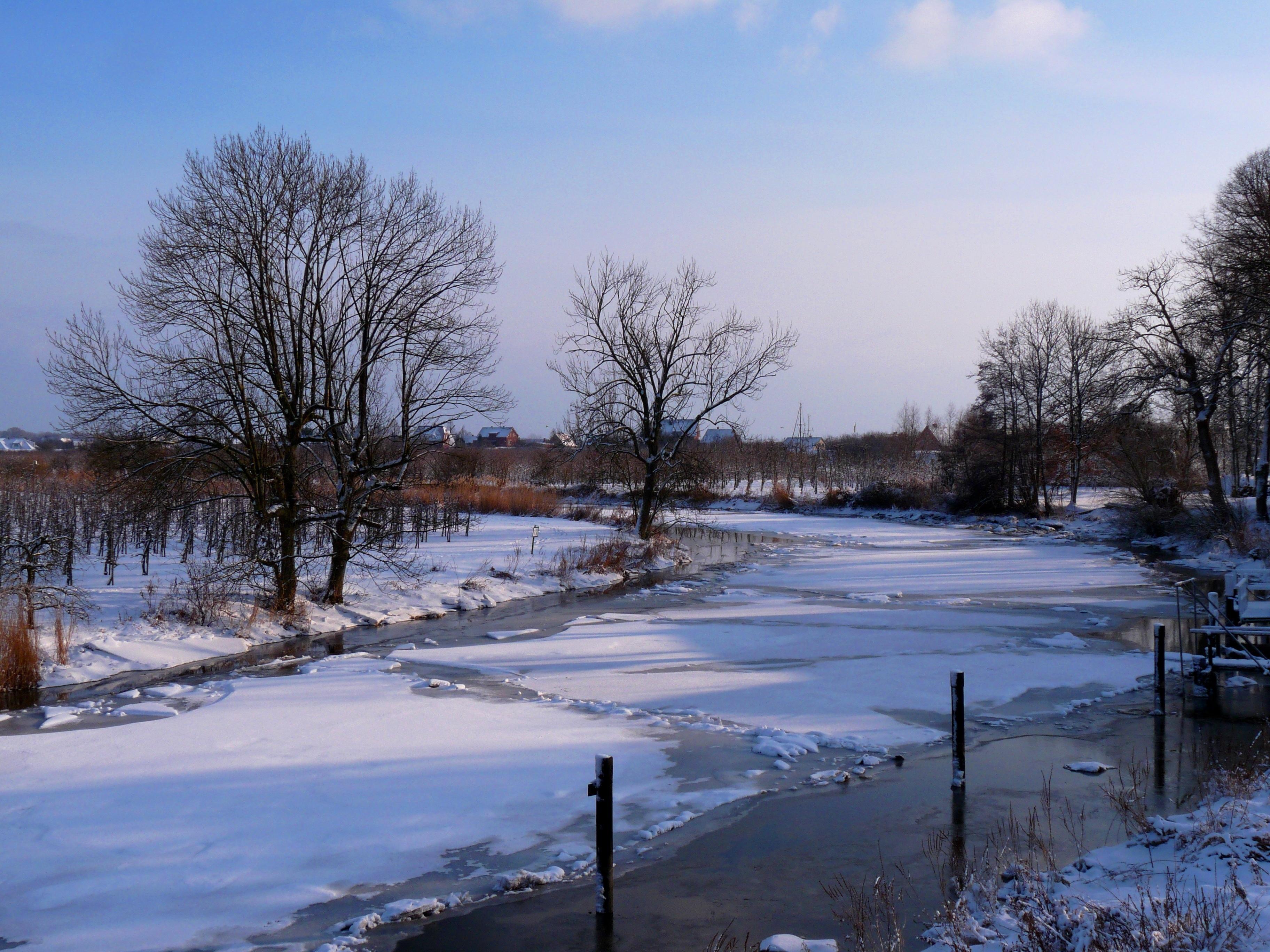 51199 скачать обои Природа, Зима, Лед, Река, Снег - заставки и картинки бесплатно