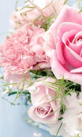 38875 descargar fondo de pantalla Plantas, Flores, Roses, Bouquets: protectores de pantalla e imágenes gratis
