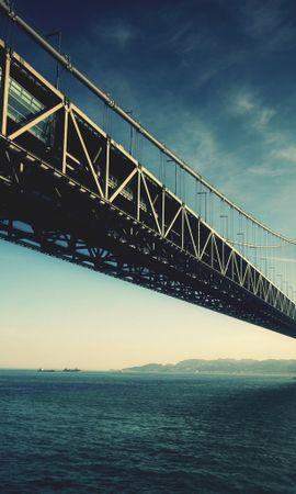22233 baixar papel de parede Paisagem, Pontes, Mar, Arquitetura - protetores de tela e imagens gratuitamente