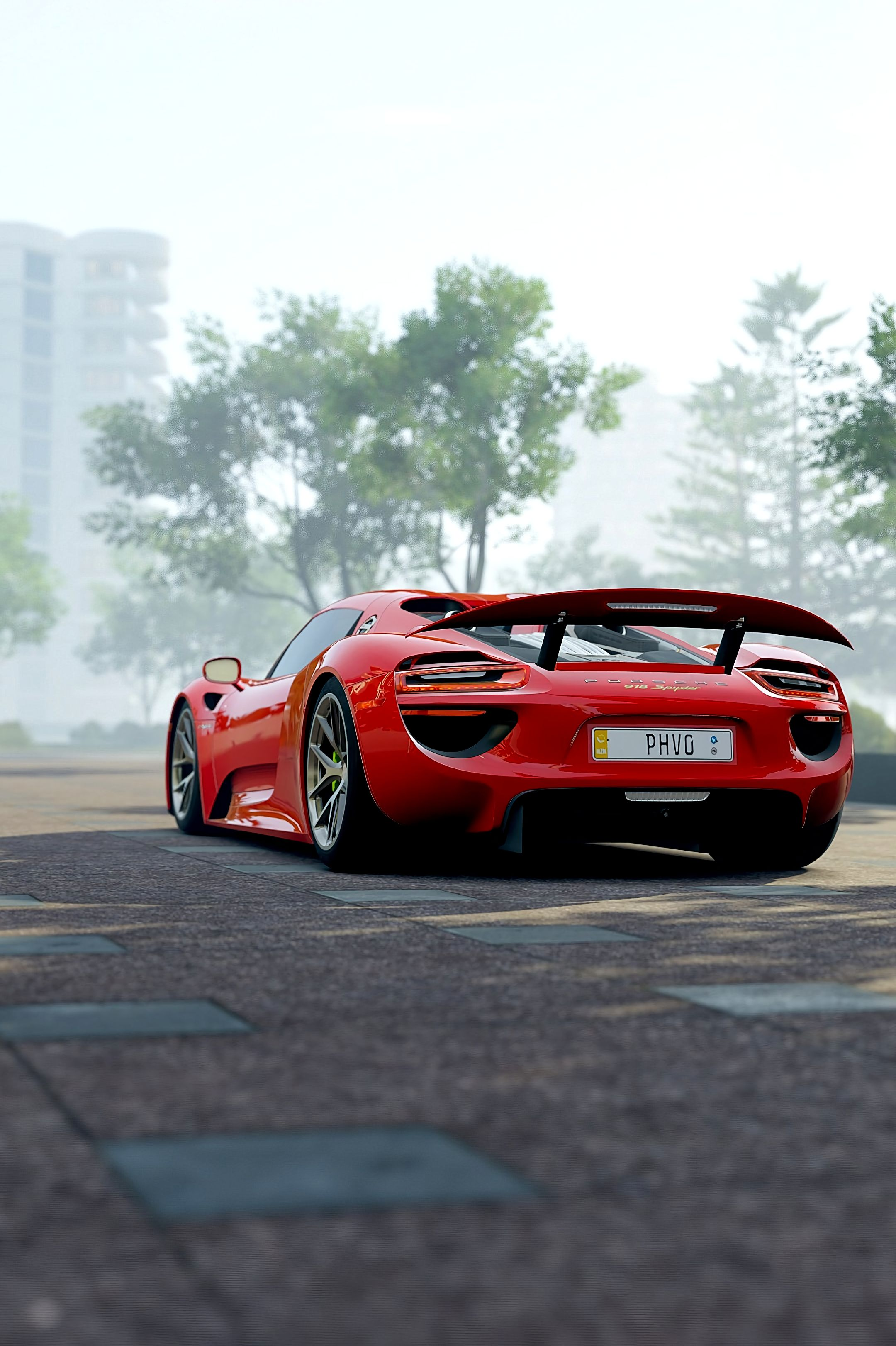 156894 download wallpaper Porsche, Sports, Cars, Sports Car, Side View, Porsche 918 screensavers and pictures for free