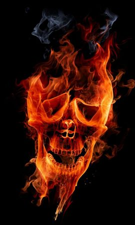4368 download wallpaper Abstract, Art, Fire, Death screensavers and pictures for free
