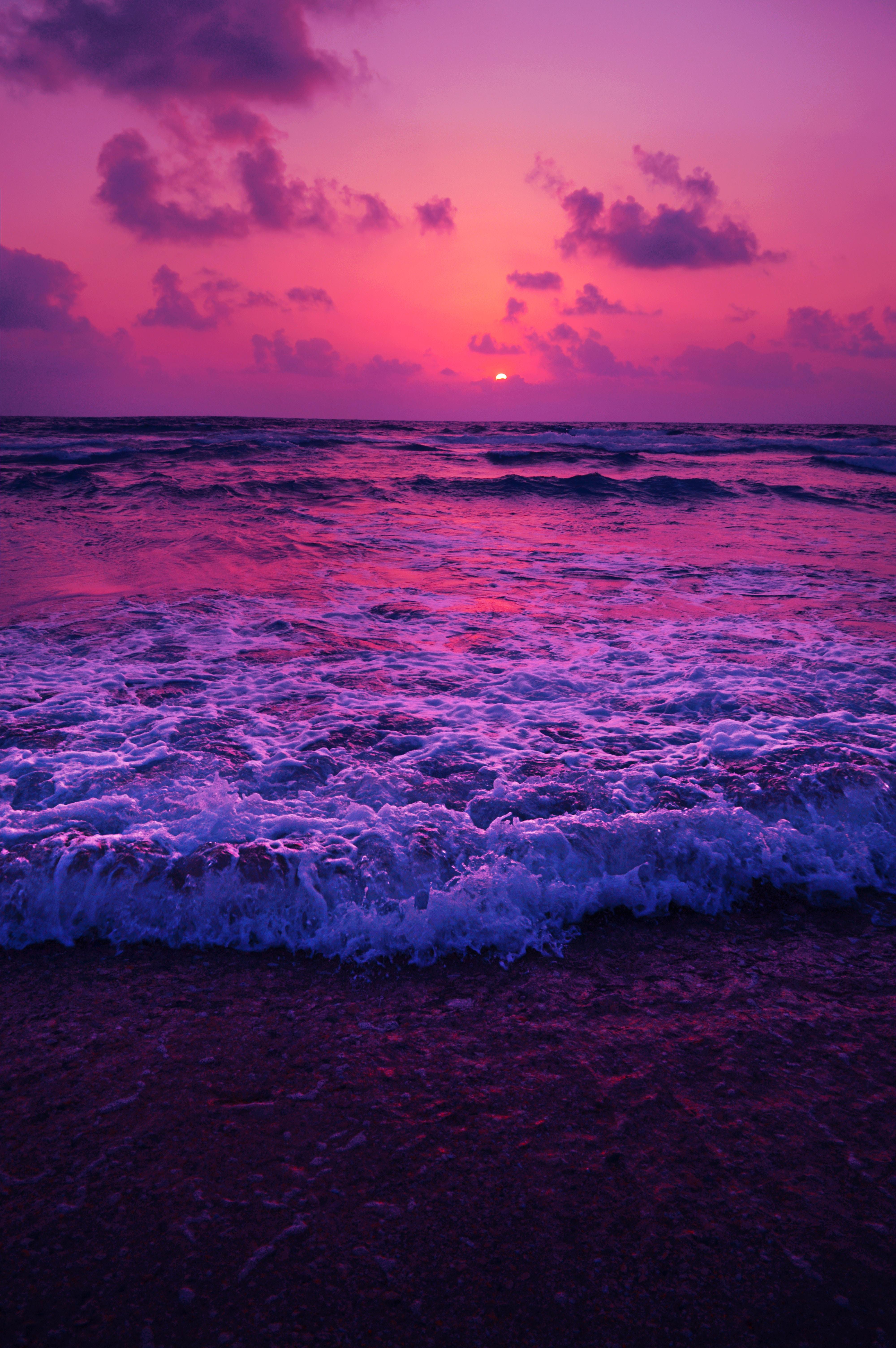 104219 télécharger le fond d'écran Nature, Coucher De Soleil, Mer, Horizon, Mousse, Écume, Le Surf, Surfer - économiseurs d'écran et images gratuitement