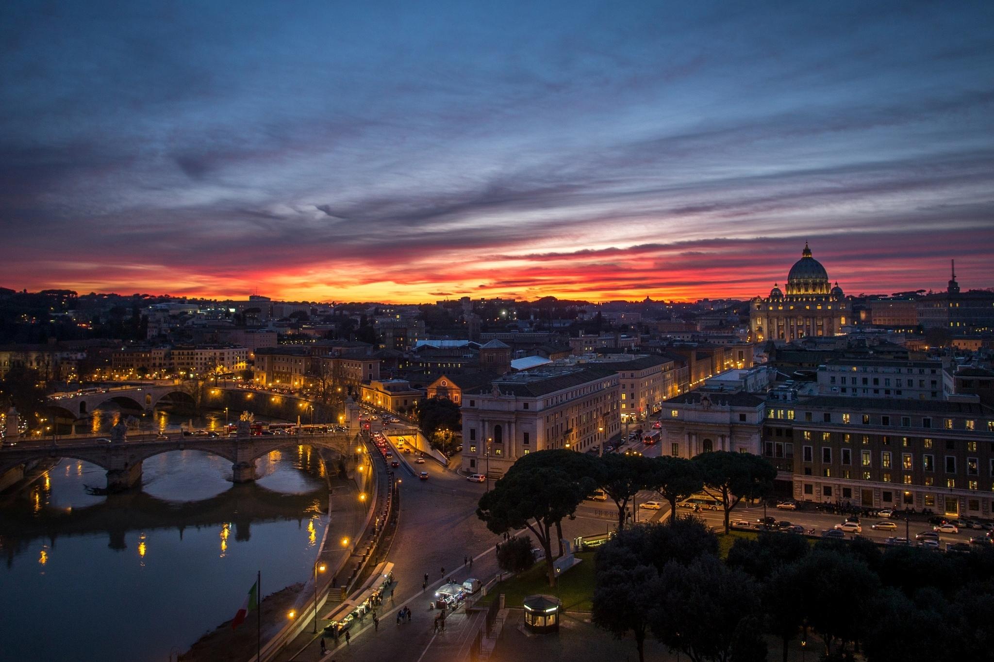 90969 скачать обои Италия, Города, Рим, Ватикан, Стато Делла Читта - заставки и картинки бесплатно