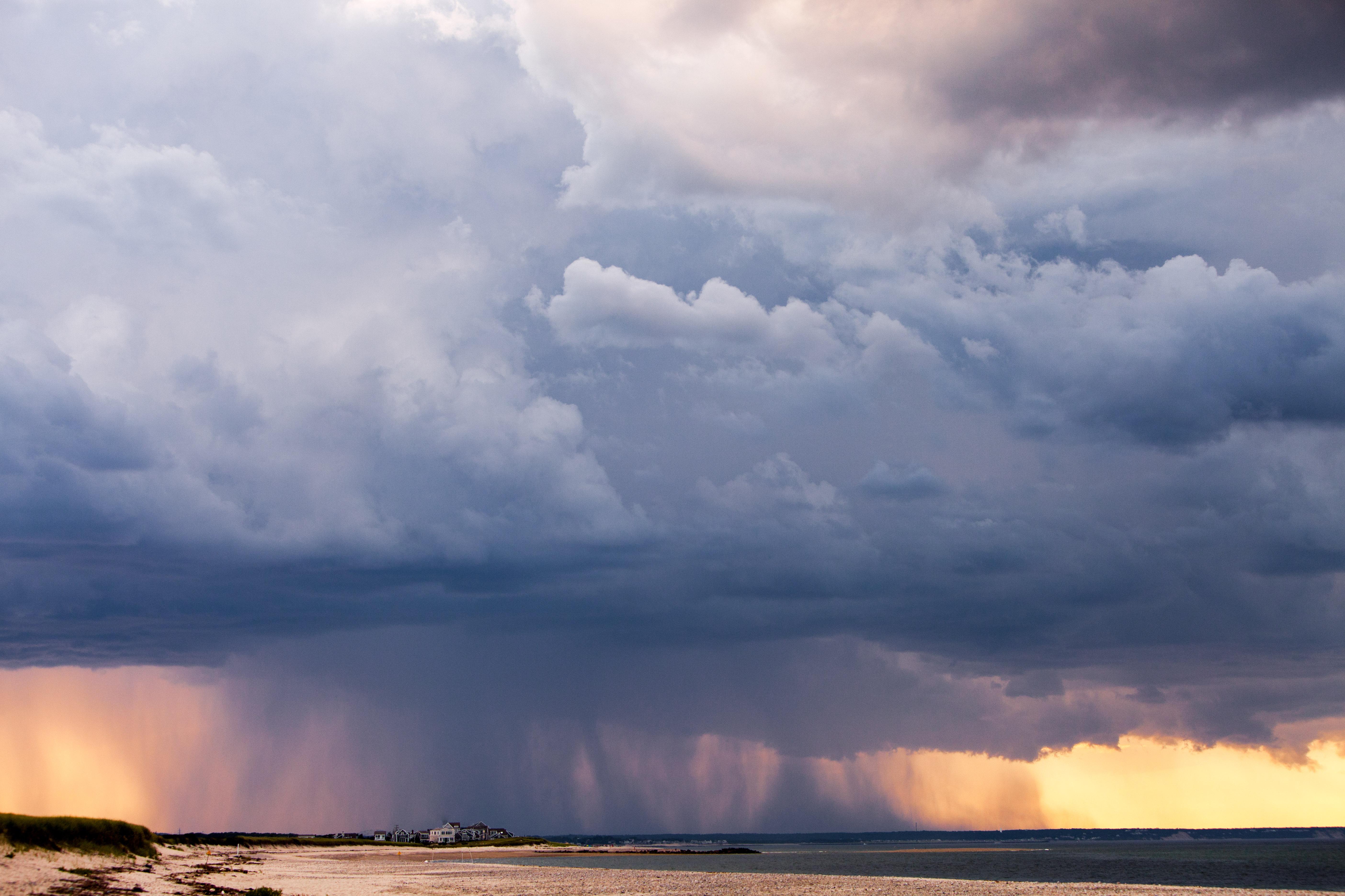 97842 скачать обои Природа, Море, Берег, Облака, Небо - заставки и картинки бесплатно