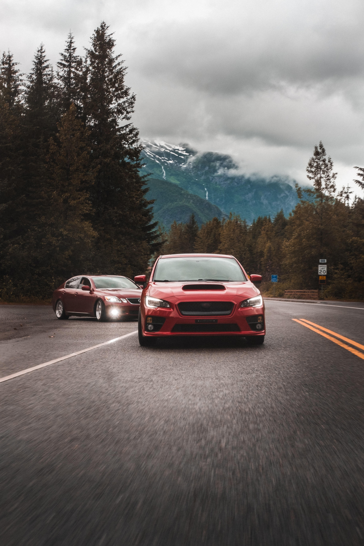 97253 Screensavers and Wallpapers Subaru for phone. Download Subaru, Cars, Road, Car, Asphalt, Front View pictures for free
