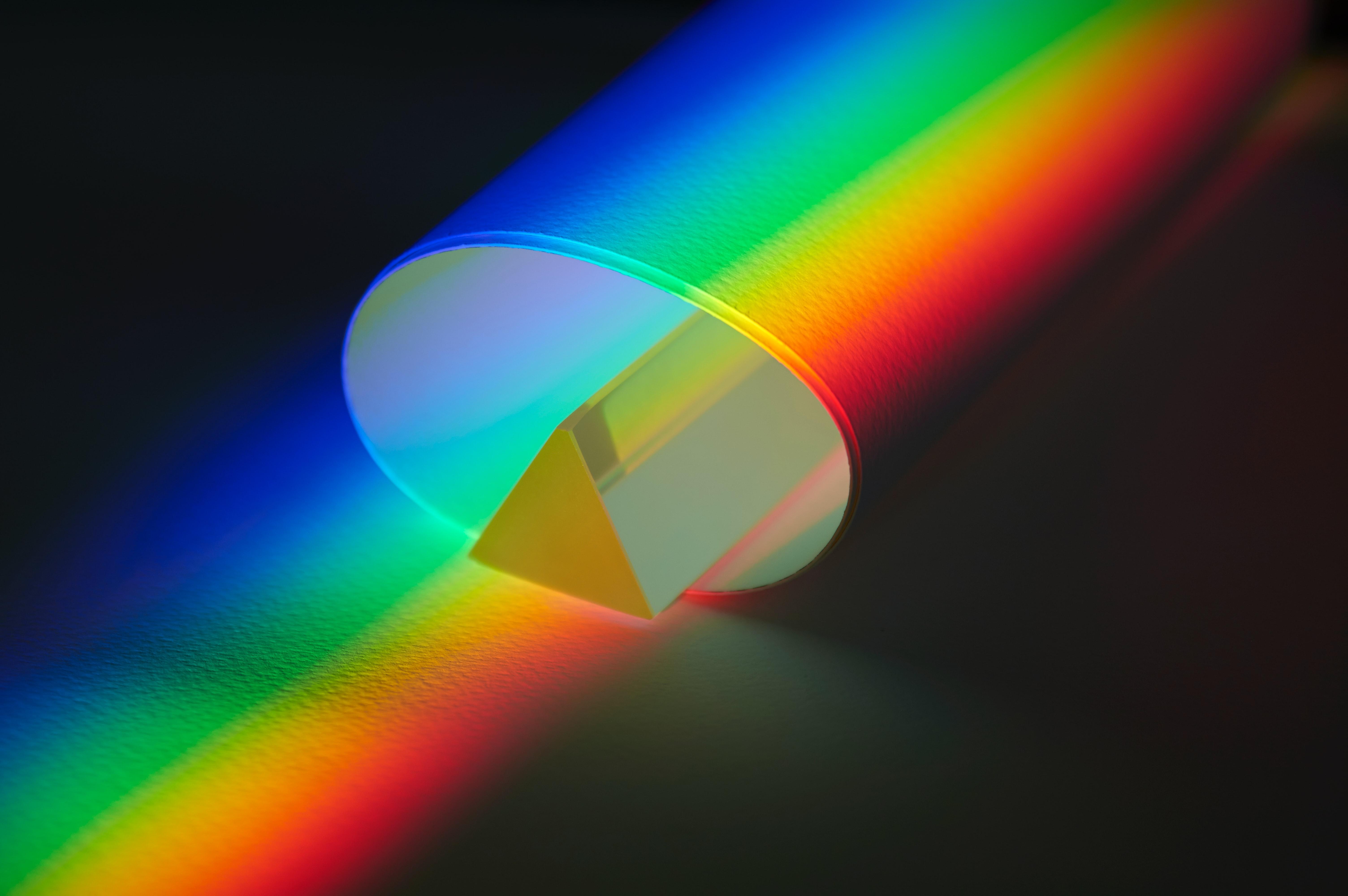 79973 免費下載壁紙 杂项, 三角形, 一个圆圈, 圆圈, 彩虹, 多彩多姿, 五颜六色 屏保和圖片
