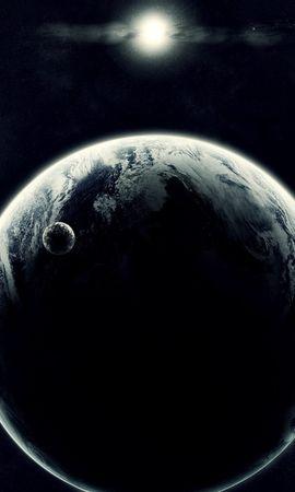 11525 скачать обои Пейзаж, Планеты, Космос, Солнце - заставки и картинки бесплатно