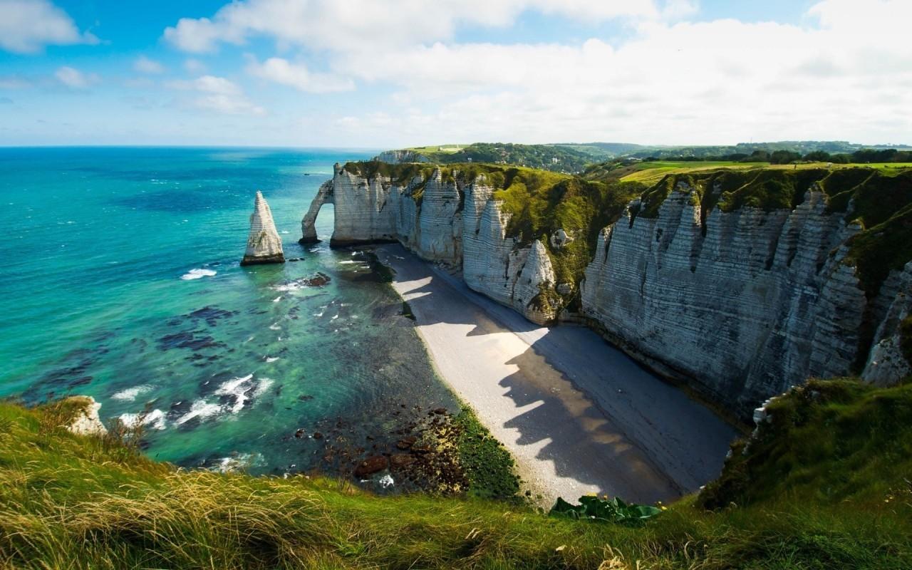 23180壁紙のダウンロード風景, 草, 海, ビーチ, サンド-スクリーンセーバーと写真を無料で