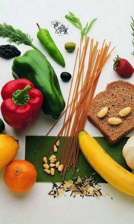 60308 télécharger le fond d'écran Nourriture, Pain, Des Noisettes, Noix, Céréales, Vitamines, Vitamine, Fruits, Légumes - économiseurs d'écran et images gratuitement