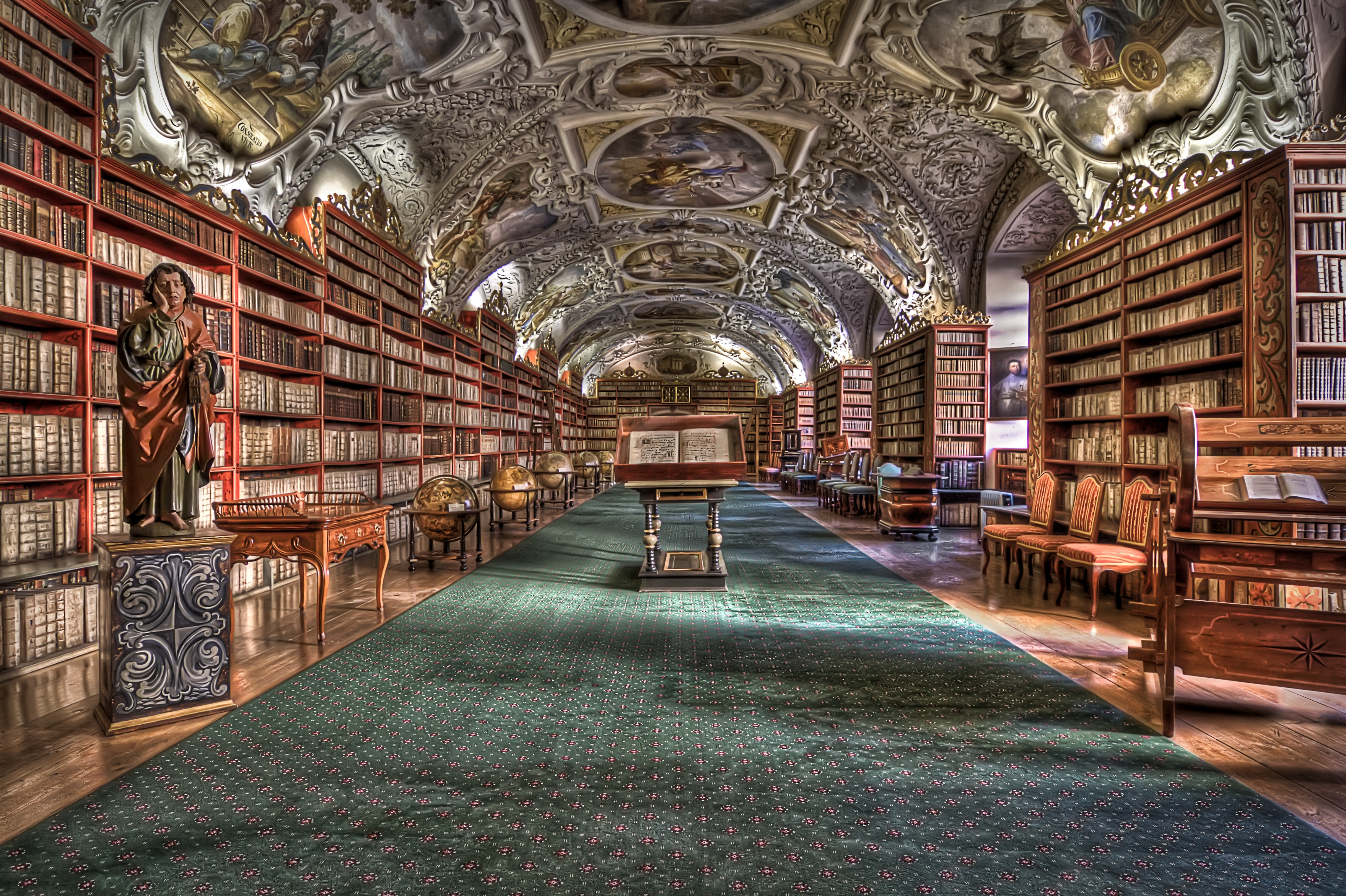 90091 Screensavers and Wallpapers Hdr for phone. Download Miscellanea, Miscellaneous, Hdr, Prague, Strahov Monastery pictures for free