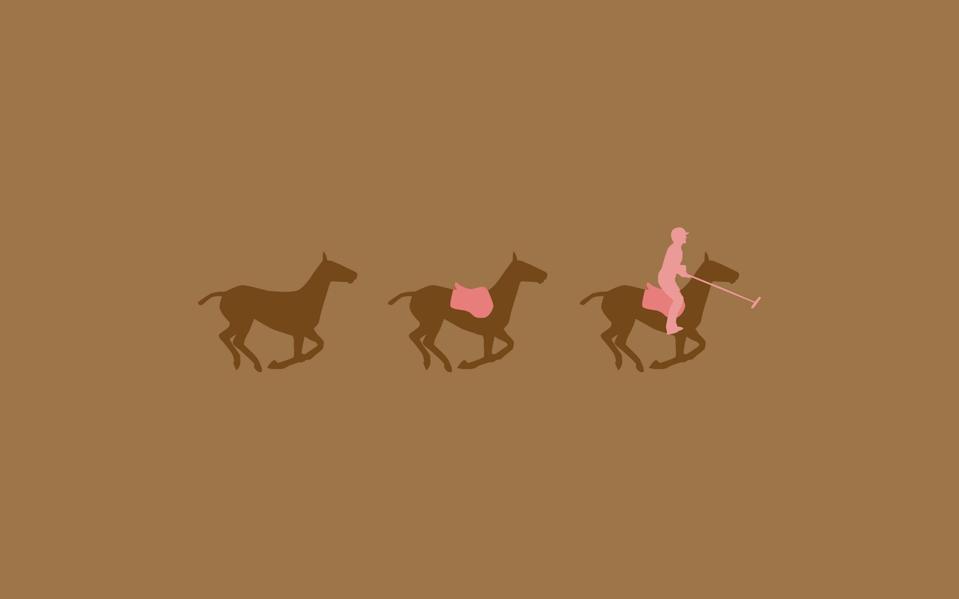 133036 download wallpaper Vector, Horses, Rider, Horseman, Picture, Drawing screensavers and pictures for free