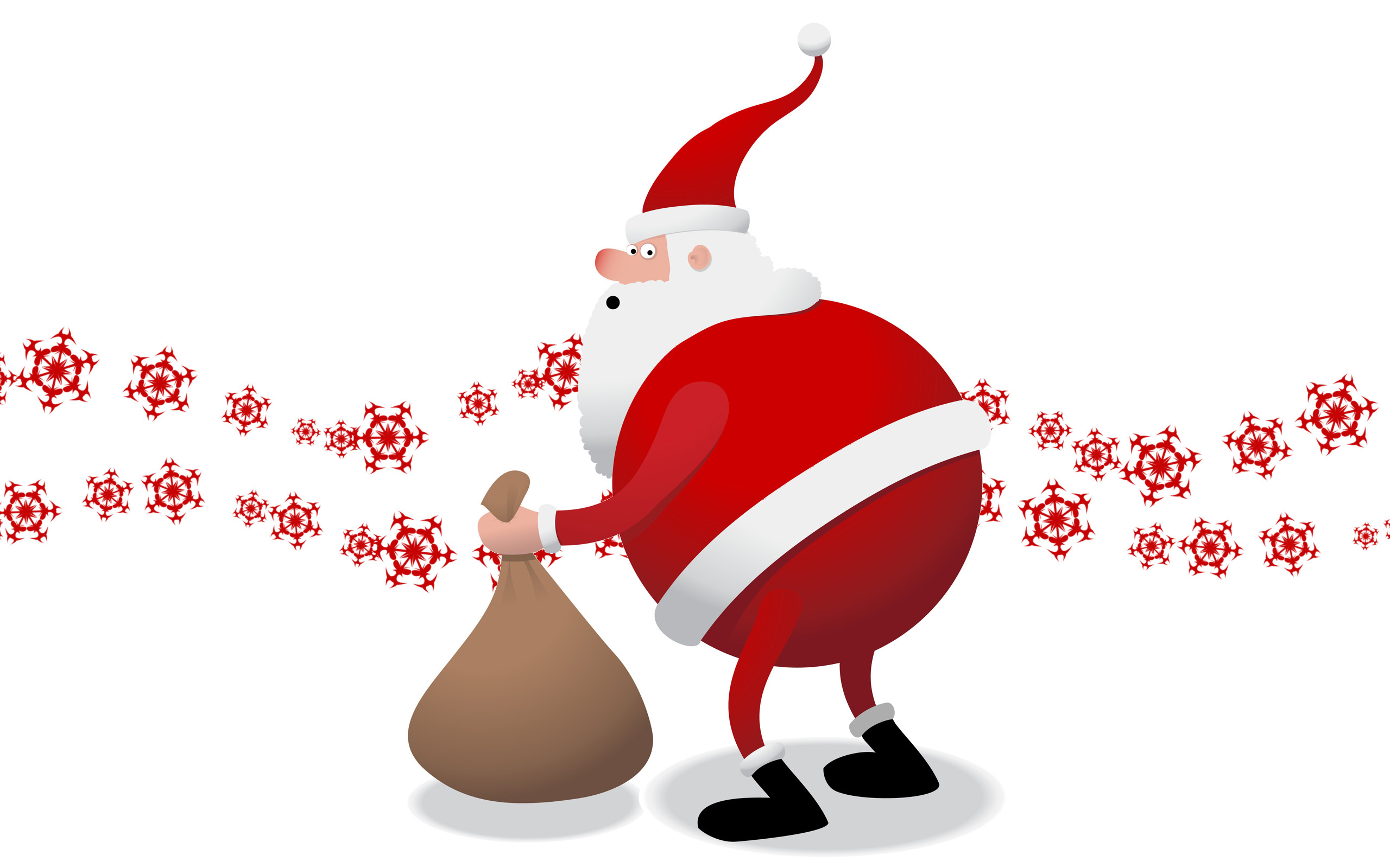 28714 download wallpaper Holidays, New Year, Santa Claus, Christmas, Xmas screensavers and pictures for free