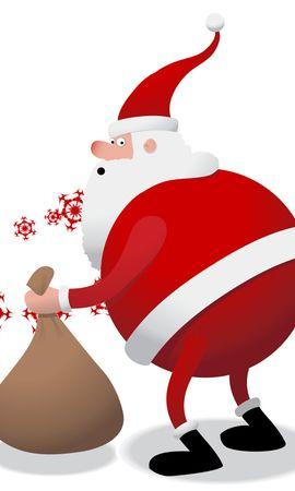 28714 descargar fondo de pantalla Vacaciones, Año Nuevo, Papá Noel, Navidad: protectores de pantalla e imágenes gratis