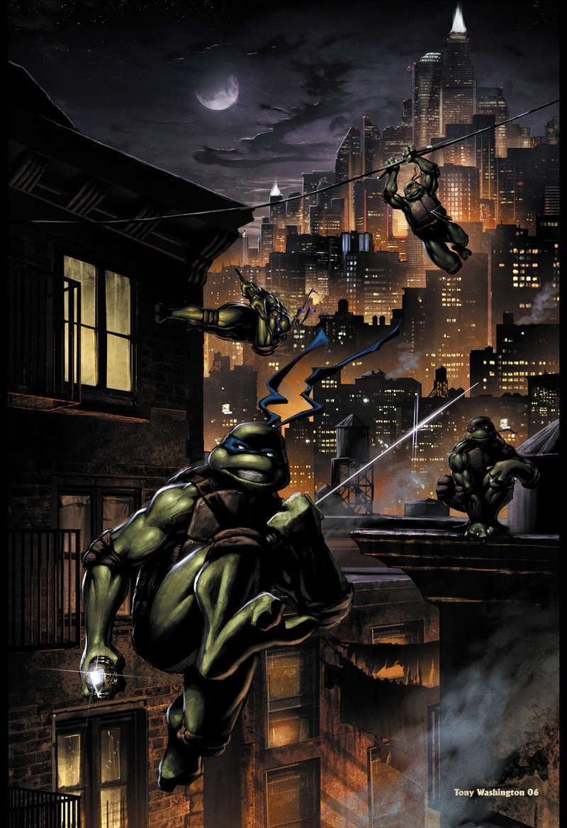 12413 download wallpaper Cartoon, Tmnt screensavers and pictures for free