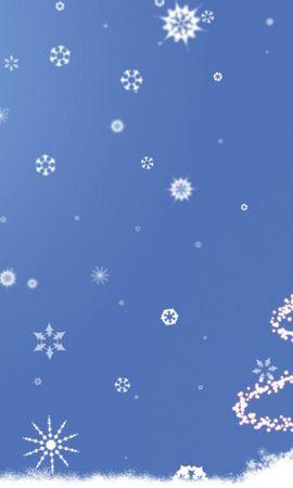 65713 descargar fondo de pantalla Vacaciones, Año Nuevo, Navidad, Árbol De Navidad, Silueta: protectores de pantalla e imágenes gratis