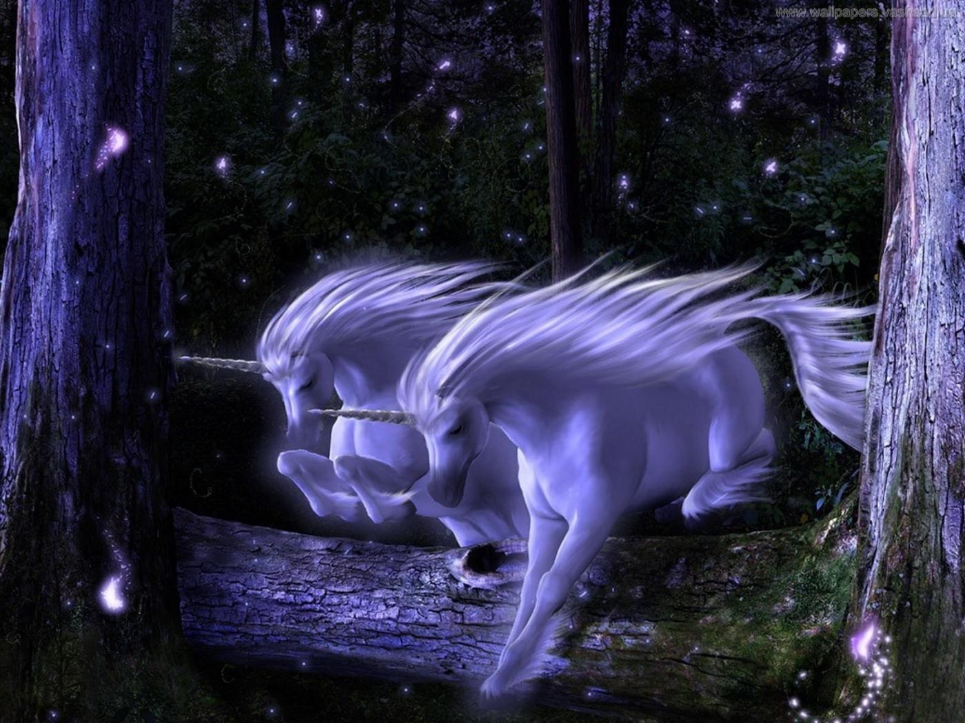 29236 Hintergrundbild herunterladen Fantasie, Unicorns - Bildschirmschoner und Bilder kostenlos