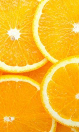 2972 скачать Желтые обои на телефон бесплатно, Фрукты, Еда, Фон, Апельсины Желтые картинки и заставки на мобильный
