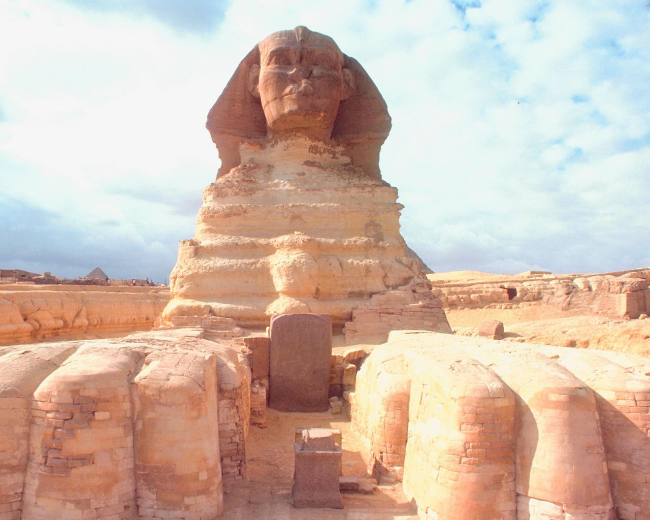 13439 download wallpaper Architecture, Egypt, Sphinx screensavers and pictures for free