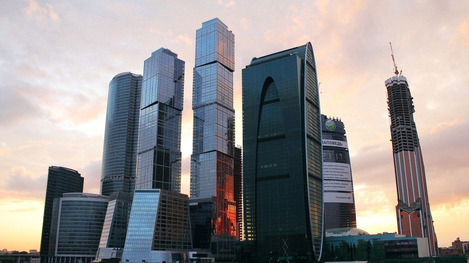 97055 скачать обои Москва, Города, Архитектура, Россия, Москва - Сити - заставки и картинки бесплатно