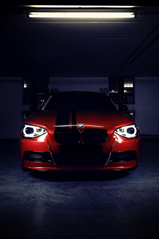 77908 скачать обои Тачки (Cars), Bmw M Performance, Бмв (Bmw), Красный, Вид Спереди - заставки и картинки бесплатно
