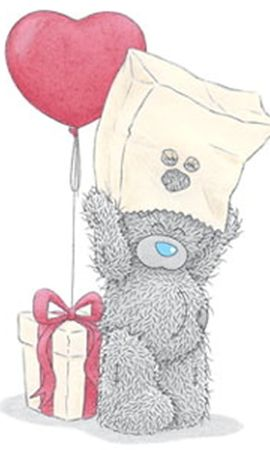 14623 скачать обои Сердца, Любовь, День Святого Валентина (Valentine's Day), Рисунки, Открытки, Мишка Тедди - заставки и картинки бесплатно