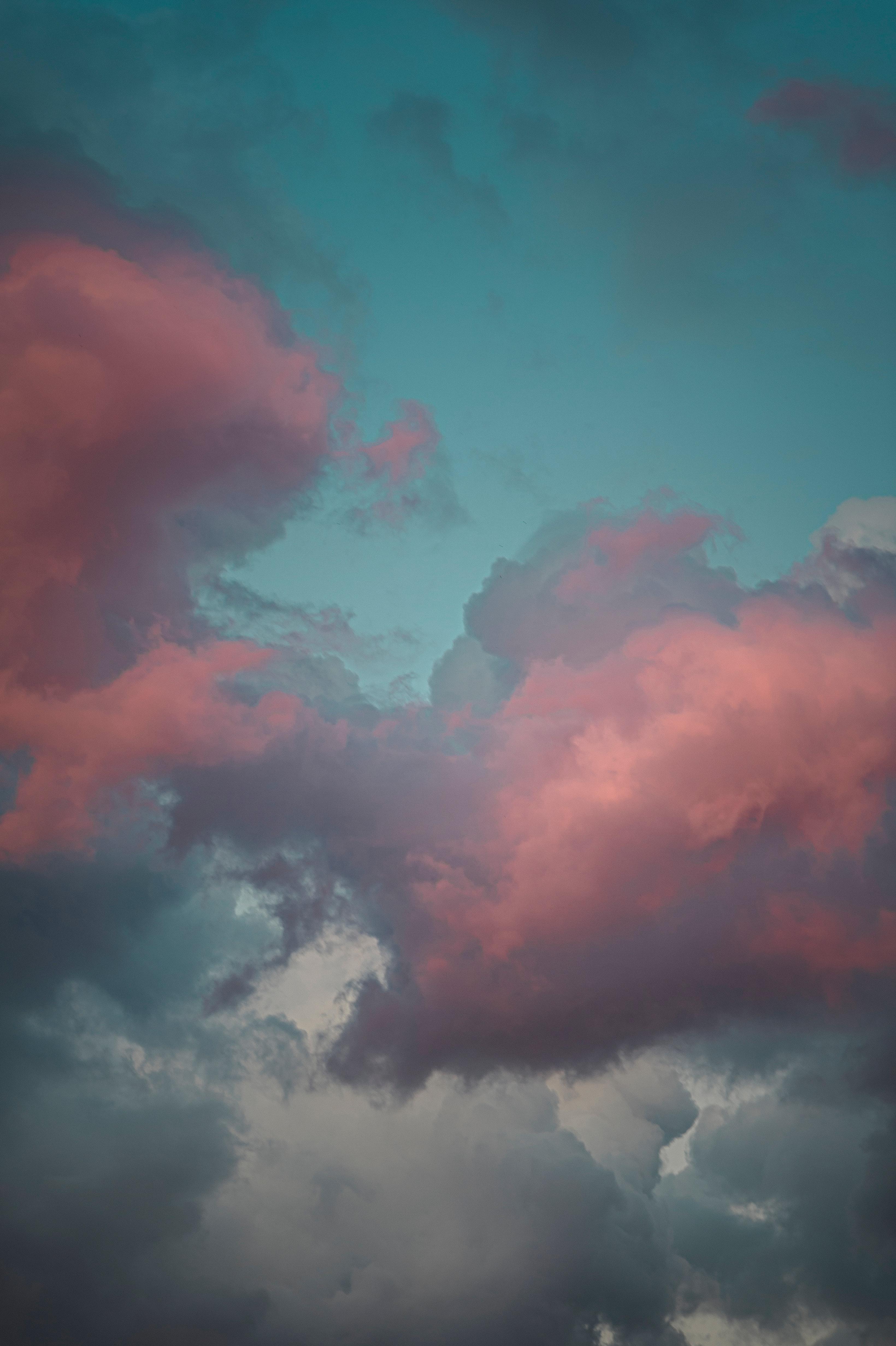 108241 免費下載壁紙 性质, 云, 云端, 天空, 粉色的, 粉色 屏保和圖片